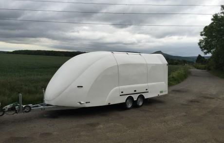 Velocity Rs Enclosed Car Trailer 3000kg Eco Trailer