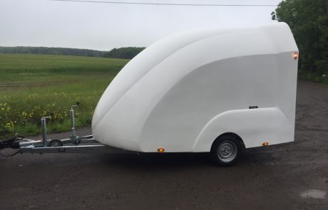 Nano Covered Car Trailer Eco Trailer