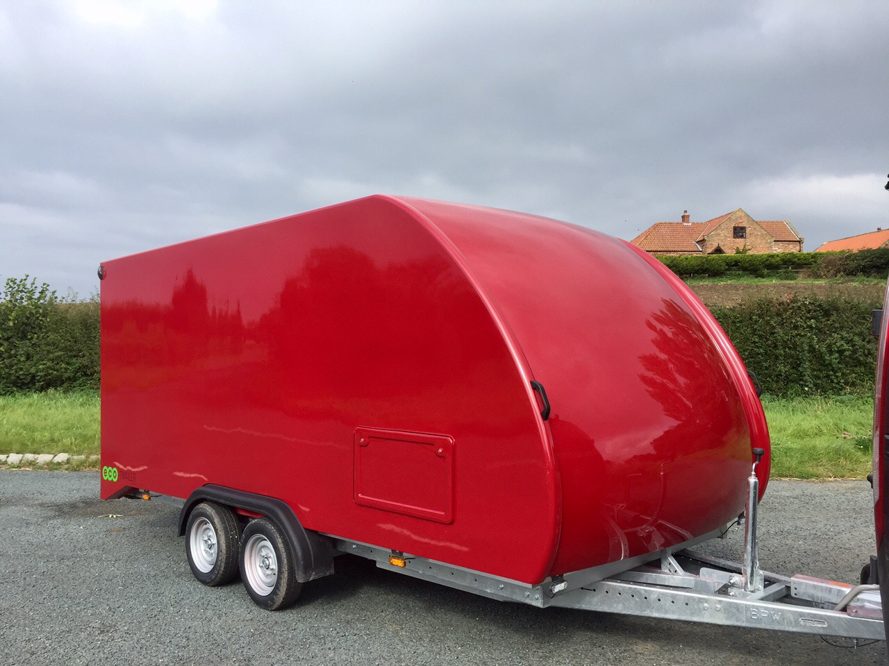 Covered Car Trailer For Sale Eco Trailer